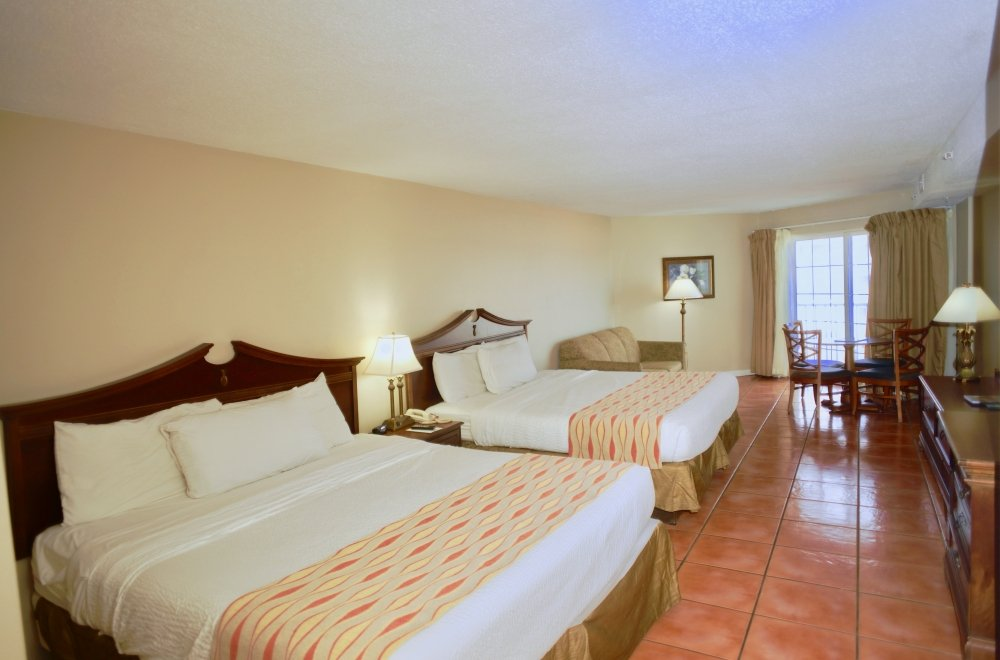 Tidelands king bed efficiency oceanfront suite